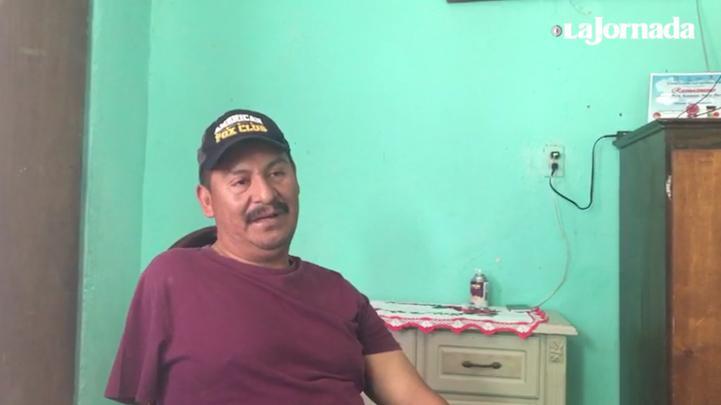 El viacrucis de un mexicano en la frontera norte