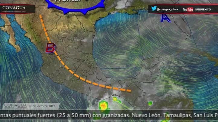 Pronóstico del tiempo para el 12 de mayo