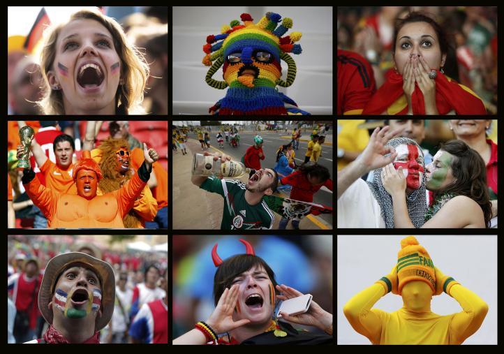 Brasil 2014: Los Fanáticos