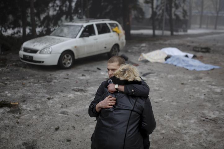 Por lo menos 224 civiles murieron en Ucrania las últimas tres semanas