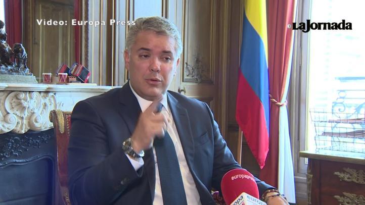 """Las fuerzas militares de Venezuela están totalmente fracturadas"": Iván Duque"