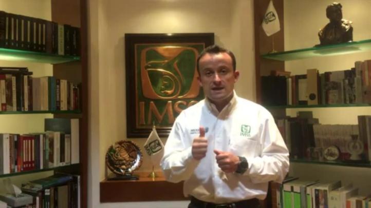 Mensaje del director del IMSS, Mikel Arriola