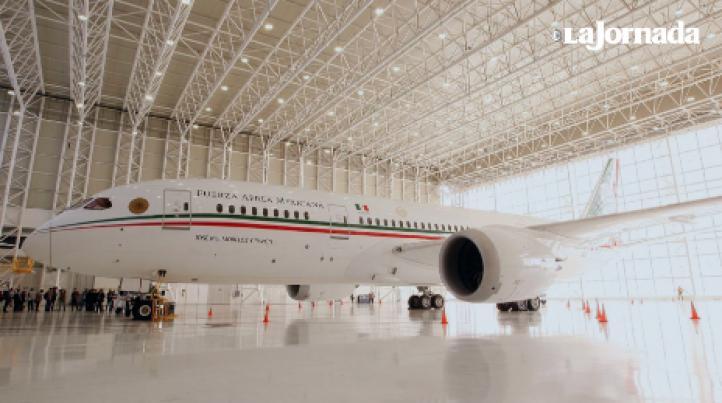 Se va el avión presidencial