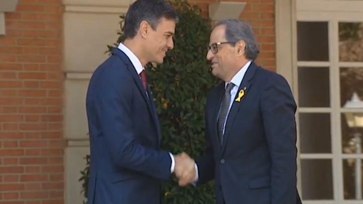 Acuerdan reunión presidentes del Gobierno español y catalán