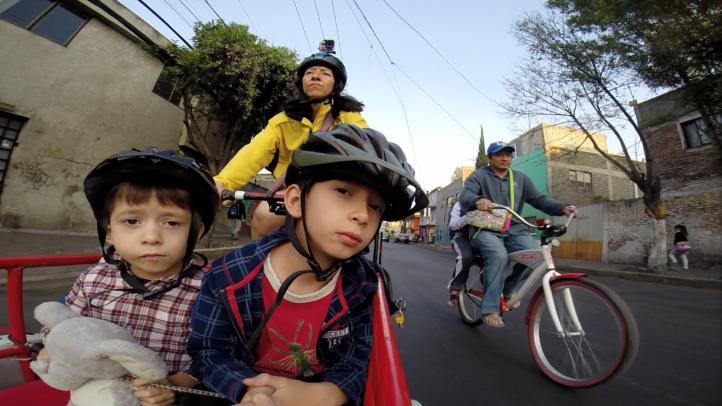 La bicicleta,  opción eficaz de transporte urbano