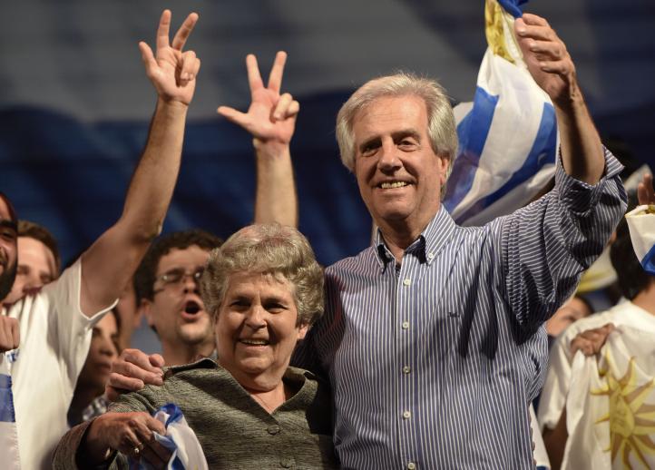 A segunda vuelta, las presidenciales en Uruguay