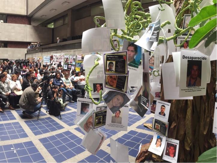 Activistas exigen aprobación de ley de desaparición forzada