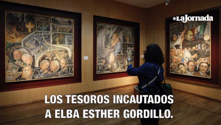 Expone el SNTE valiosa colección incautada a Gordillo