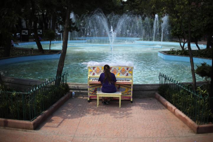 Invadieron los pianos la ciudad de México