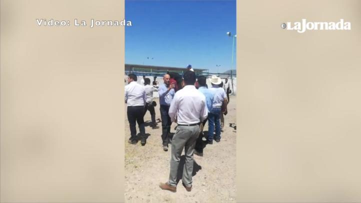 AMLO cabalga a caballo en Camargo, Chihuahua
