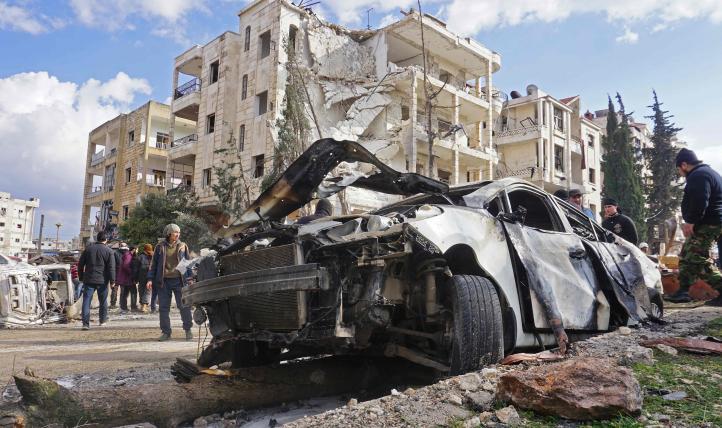 Bombardeos en Idlib afectan a civiles sirios