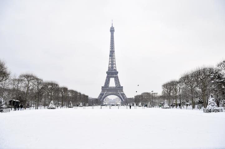 Varios países sufren el embate del invierno