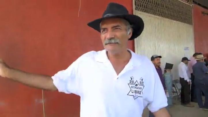 Las autodefensas van por el puerto de Lázaro Cárdenas