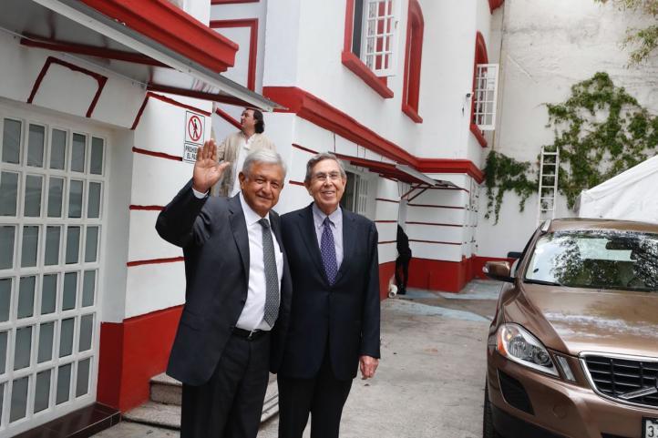 AMLO Cárdenas se reúnen; el ingeniero manifiesta su apoyo
