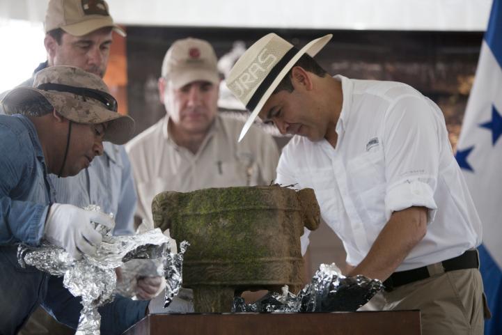"""Inician la extracción de las primeras piezas en la mítica """"Ciudad Blanca"""""""