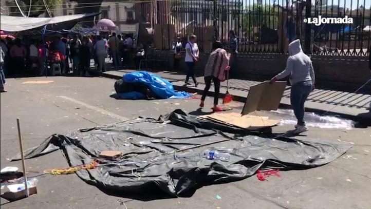 Finaliza conflicto magisterial en Michoacán; CNTE acepta ofrecimientos