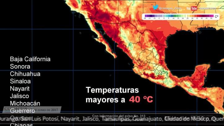 Pronóstico del tiempo para el 7 de junio