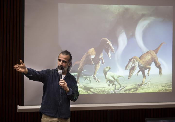 'Gualicho shinyae', el nuevo dinosaurio descubierto en Argentina
