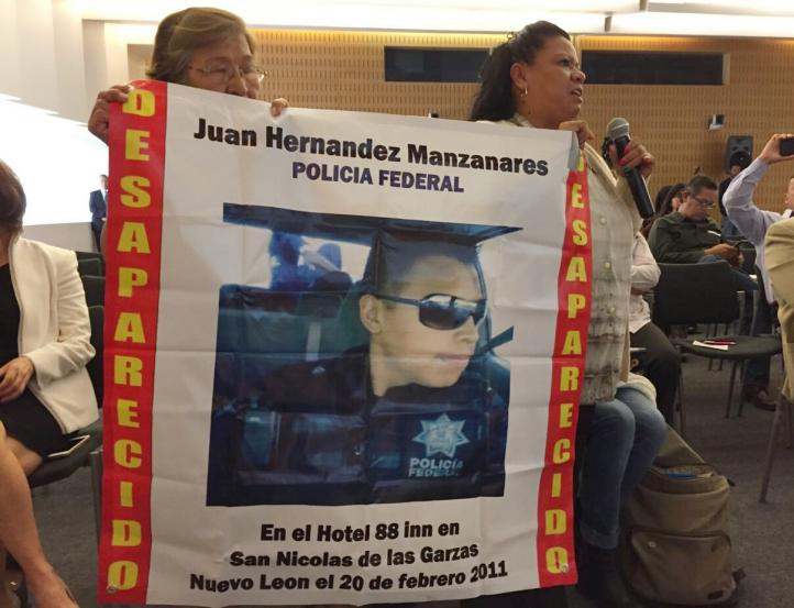 Exigen a jefe de la PF investigar desaparición de un agente en 2011