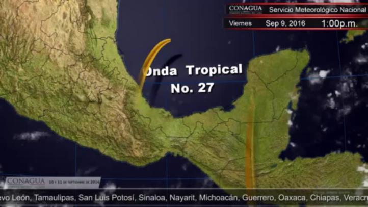 Pronóstico del tiempo para el 10 y 11 de septiembre