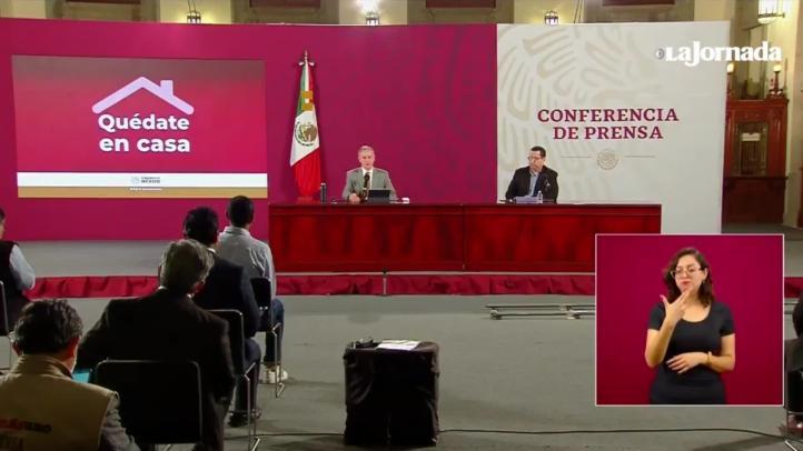 AMLO no está en riesgo de contagio por contacto con secretario de Hacienda: Ssa