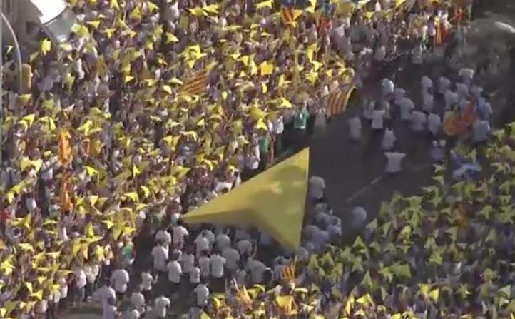 Se inicia proceso para proclamar la independencia de Cataluña