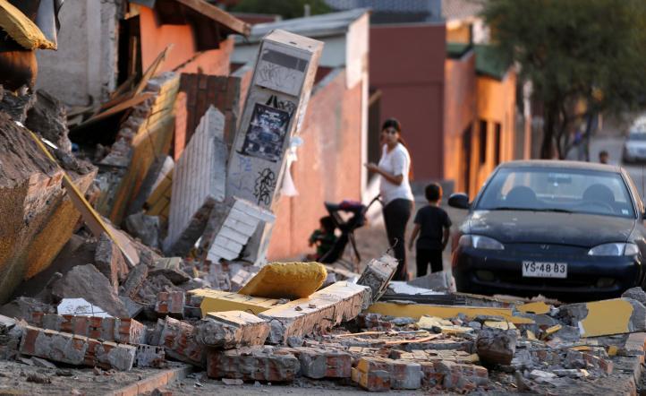 Daños en Chile tras el sismo de 8.2 grados Richter