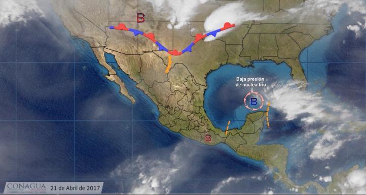 Pronóstico del tiempo para el 21 de abril de 2017