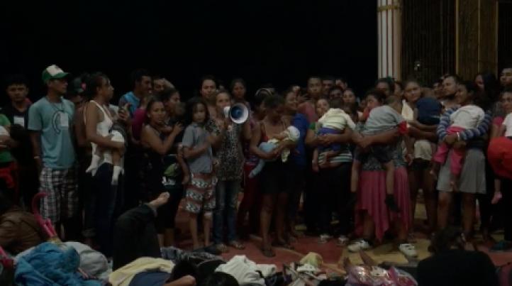 El Éxodo Migrante le pide al gobernador de Veracruz que cumpla su palabra