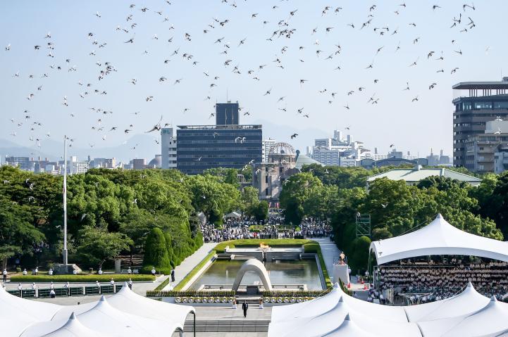 Hiroshima conmemora el 73 aniversario de la bomba atómica