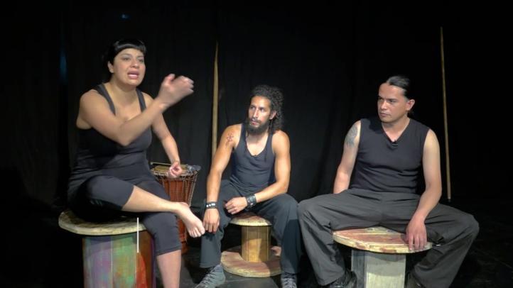 Los Independientes: Laboratorio de teatro Ménades y Faunos Dionisiacos