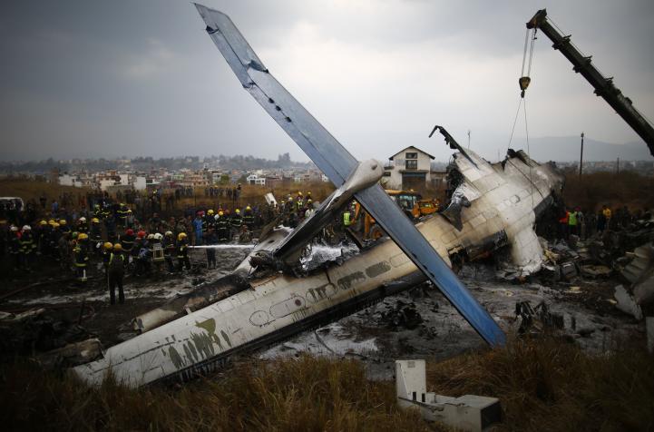 Accidente aéreo en Katmandú