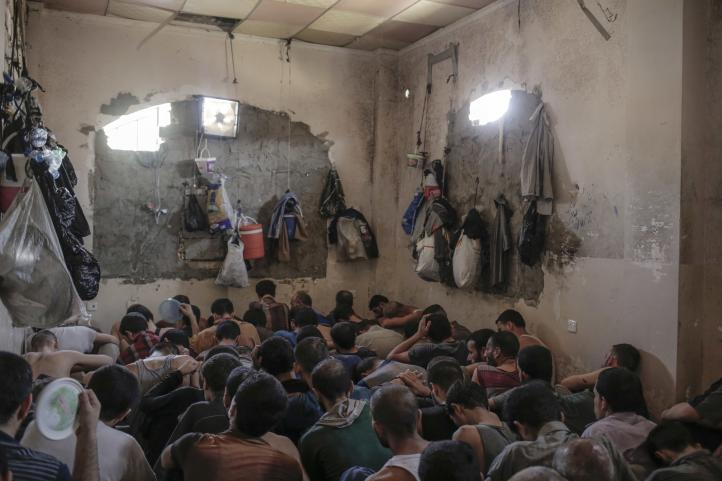 Así son las condiciones infrahumanas en las cárceles de Irak