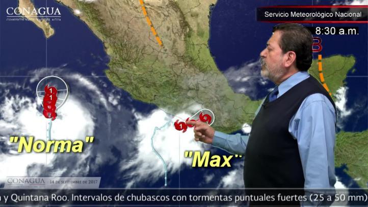 Aviso por huracán Max
