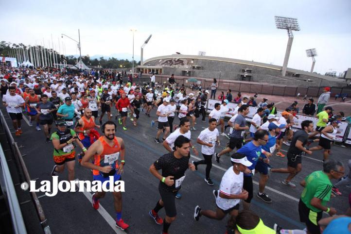 En sus marcas, listos, ¡fuera!... así se vivió el Maratón de la CDMX