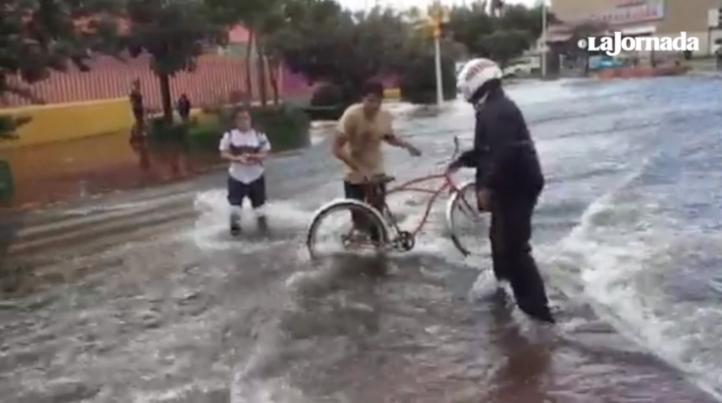 Lluvias vespertinas en Guadalajara