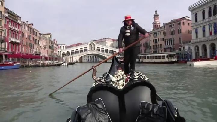 Góndolas en Venecia, en peligro de extinción