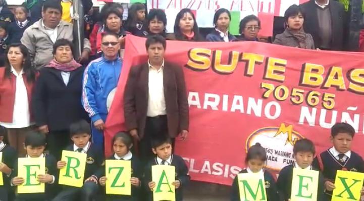 Desde Perú, envían mensaje de solidaridad con los afectados por el sismo en México