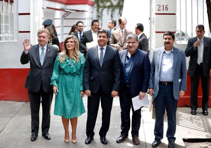 Gobernadores del norte se reúnen con AMLO