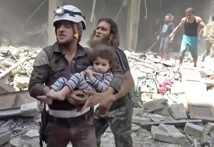 Bombardeos en la ciudad siria de Alepo