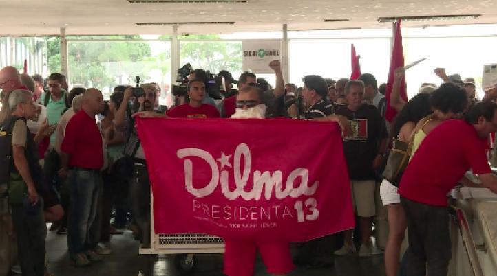 Central sindical respalda a Rousseff, ante el pedido de juicio político