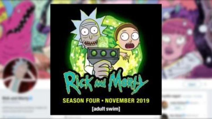 En noviembre, cuarta temporada de Rick & Morty