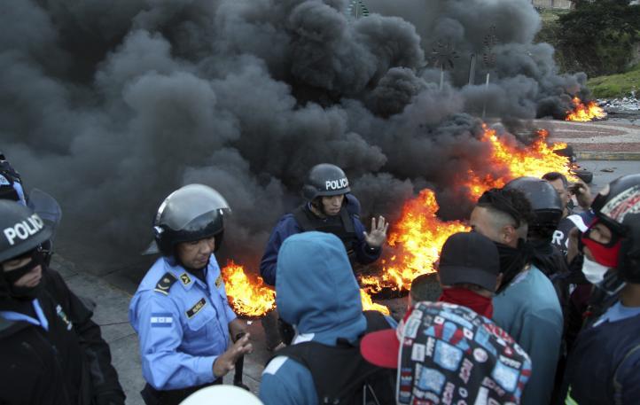 Honduras: 16 muertos en conflicto postelectoral