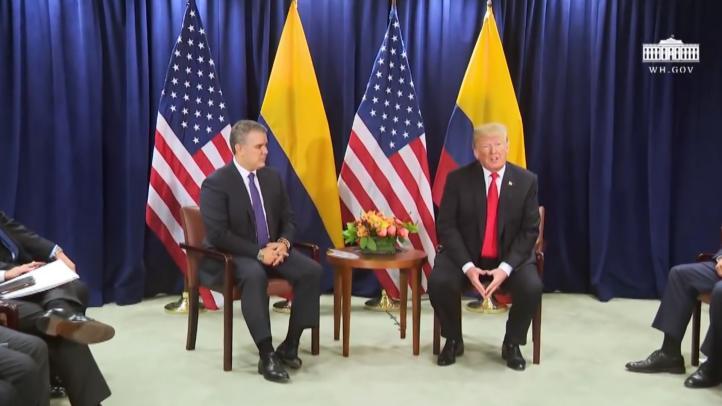 Trump y Duque se reunirán el 13 de febrero