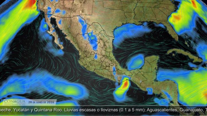 Pronóstico del tiempo para el 28 de junio de 2016