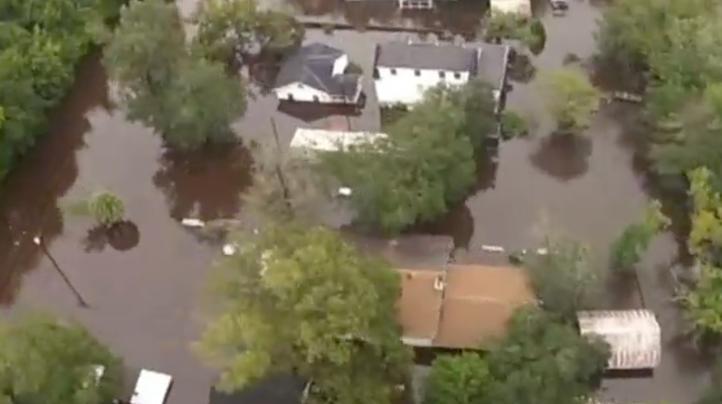 Fuertes lluvias en Carolina del Sur