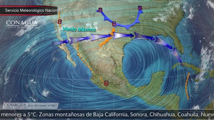 Pronóstico del tiempo para el 6 de noviembre
