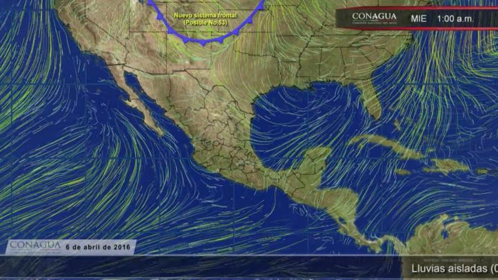 Pronóstico del tiempo para el 6 de abril