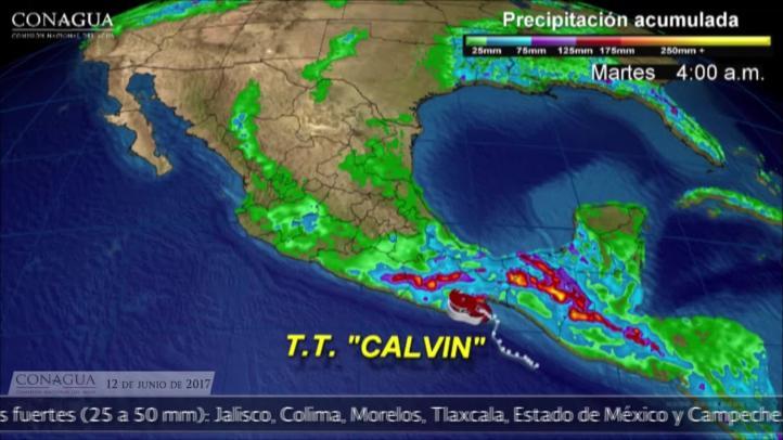 Se forma tormenta tropical Calvin