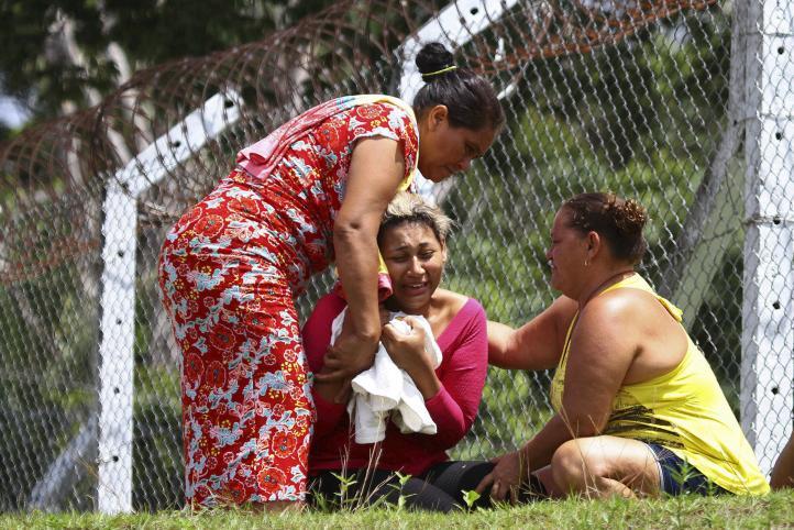 Motín en prisión de Brasil deja al menos 60 muertos